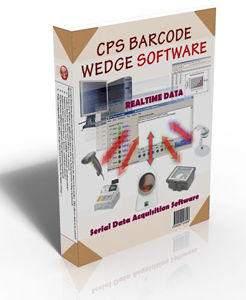 CPS Barcode Wedge Ver 6.9 screenshot